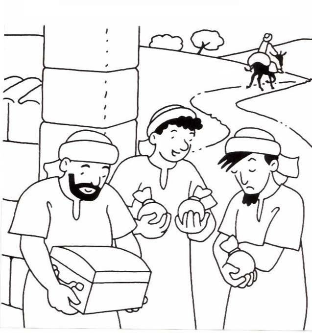 34++ The parable of the talents coloring page HD