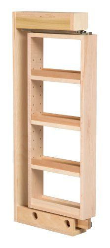 Wall Filler Cabinet Organizer 3 Quot X 30 Quot Solid Maple Wood By Home Pro Shops 128 95 Features