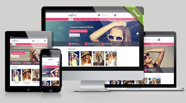 Emphasis - Multipurpose Responsive Magento Theme (Magento) - http ...