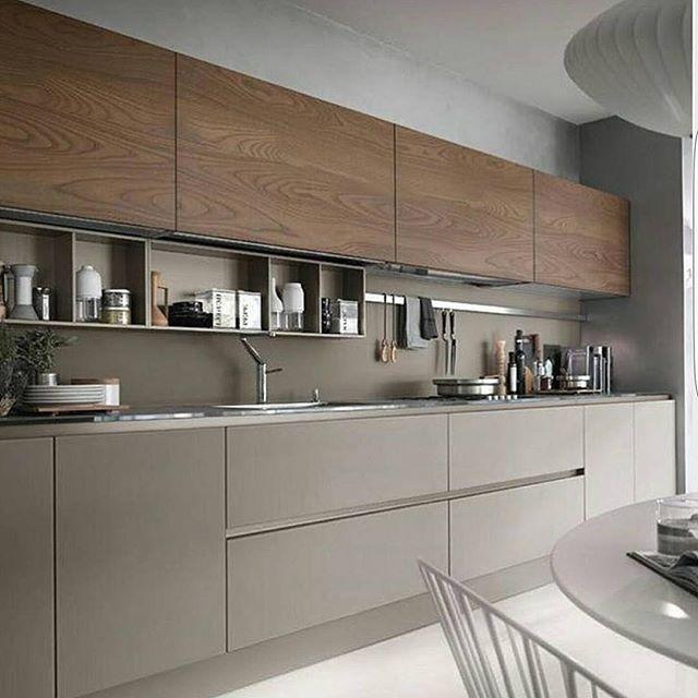 C O Z I N H A ✓️Madeira ✓️Cores neutras #cozinha | *kuchnia ...