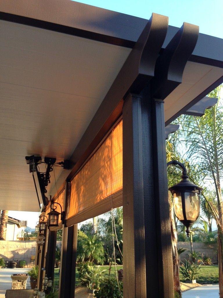 Aluminum patio covers redlands alumacover aluminum