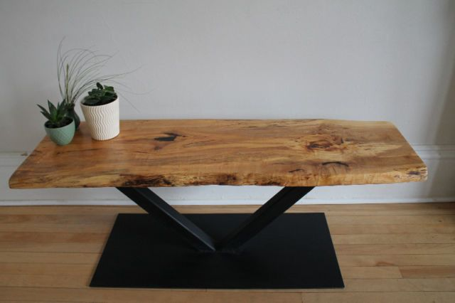 Live Edge Spalted Maple Coffee Table | coffee tables ...