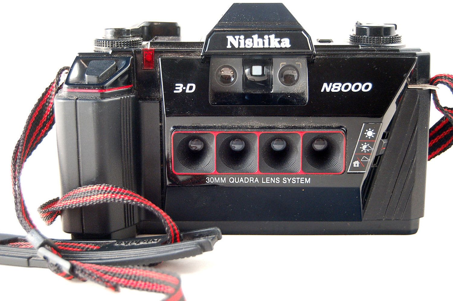 WORKING Nishika 3D N8000 4 Lens Lomo Toy Lomography Camera | Toy ...