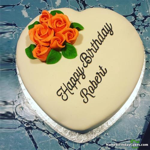 Happy Birthday Robert Cake Images Peatix