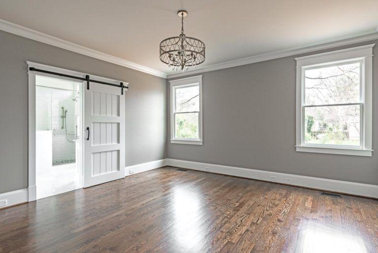 Nancy Creek in 2020 | Grey walls living room, Paint colors ...