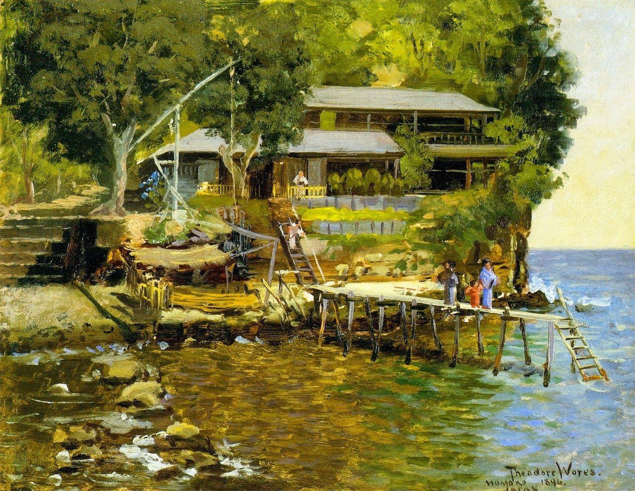 私たちが知らない江戸「日本を愛した19世紀の米国人画家」が描いた ...