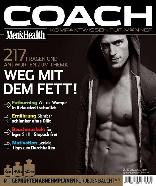 Men's Health Coach N° 11 - Weg Mit Dem Fett (N° 1/2012)