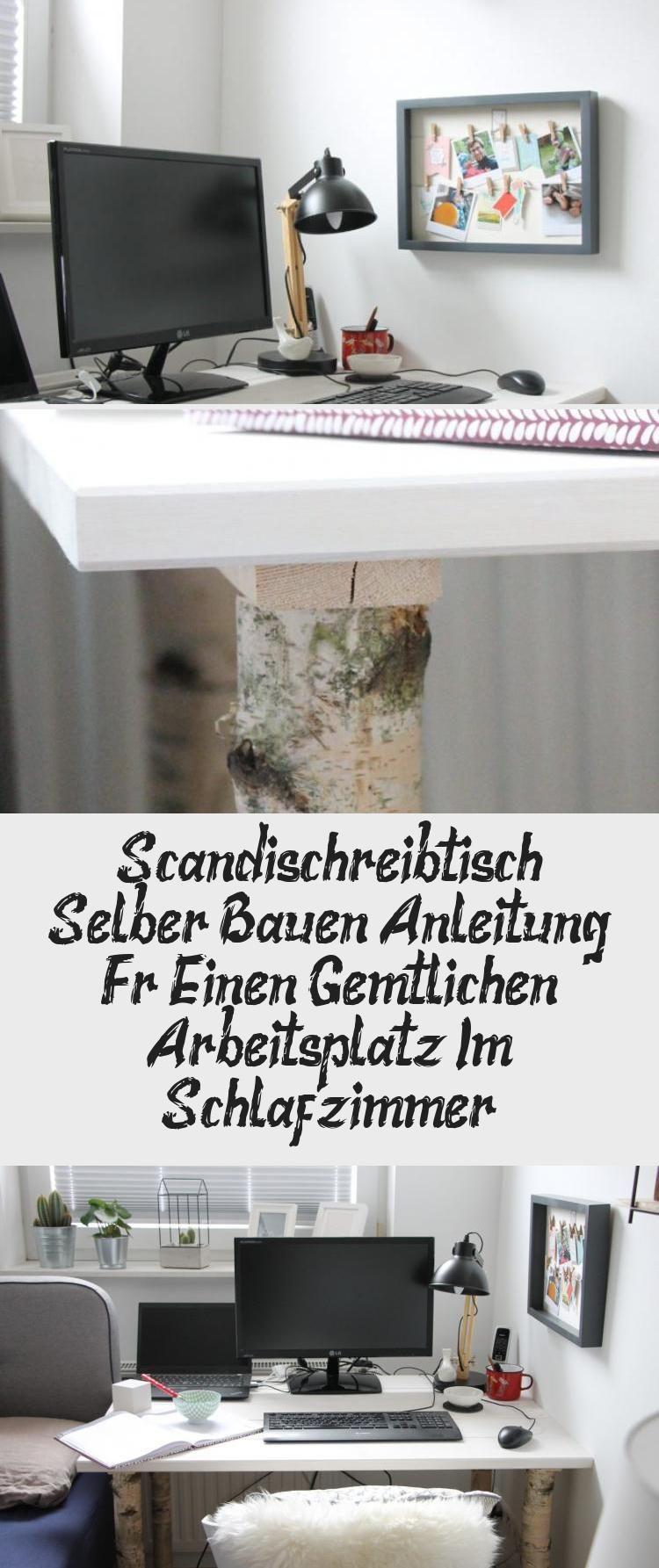 Scandi Schreibtisch Selber Bauen Anleitung Fur Einen Gemutlichen