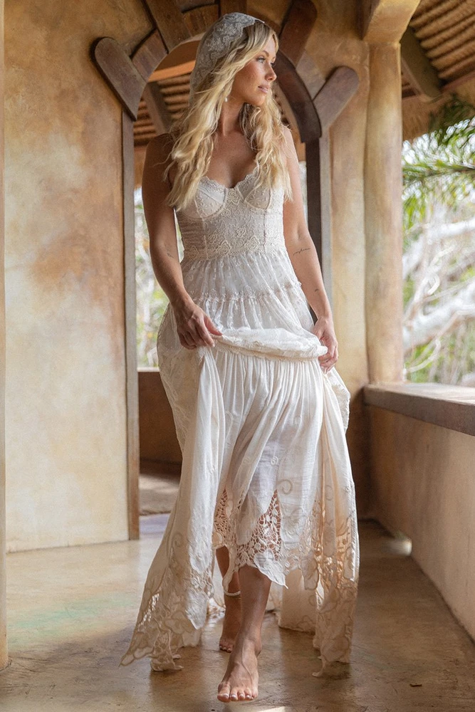 Margot Gown In 2021 Bohemian Style Wedding Dresses Boho Wedding Dress Wedding Dresses