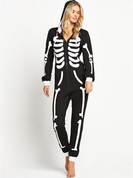 7ad259022e97 onesies for women-sorbet skeleton onesie Halloween Onesie