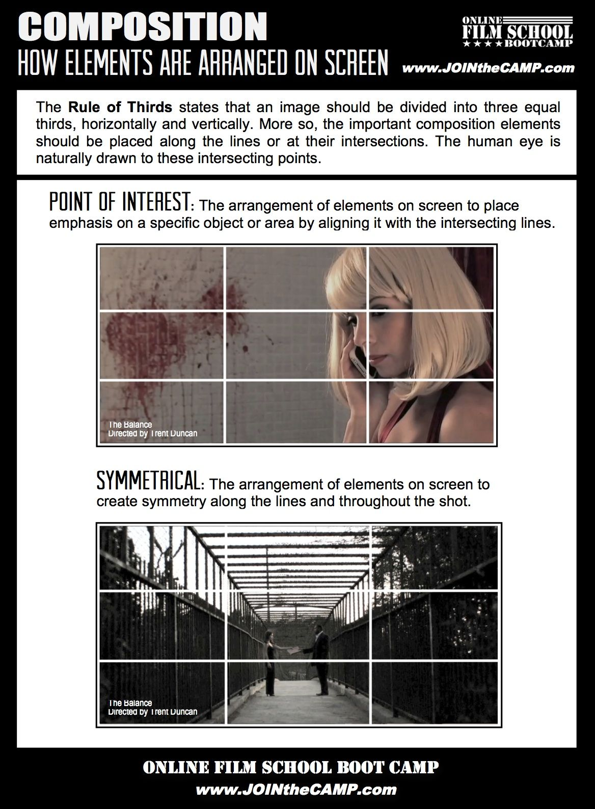 Rule Of Thirds Cheat Sheet Point Of Interest And