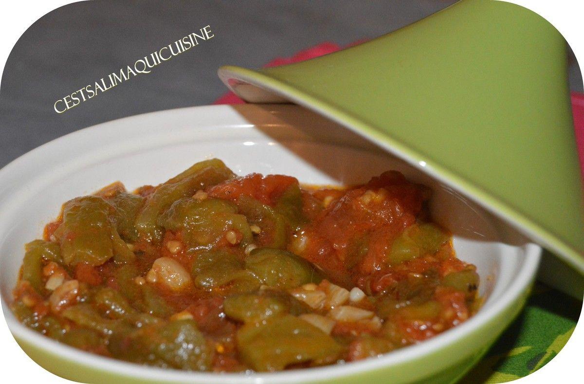 salade de poivrons et tomates cuisine du maghreb sucr e. Black Bedroom Furniture Sets. Home Design Ideas