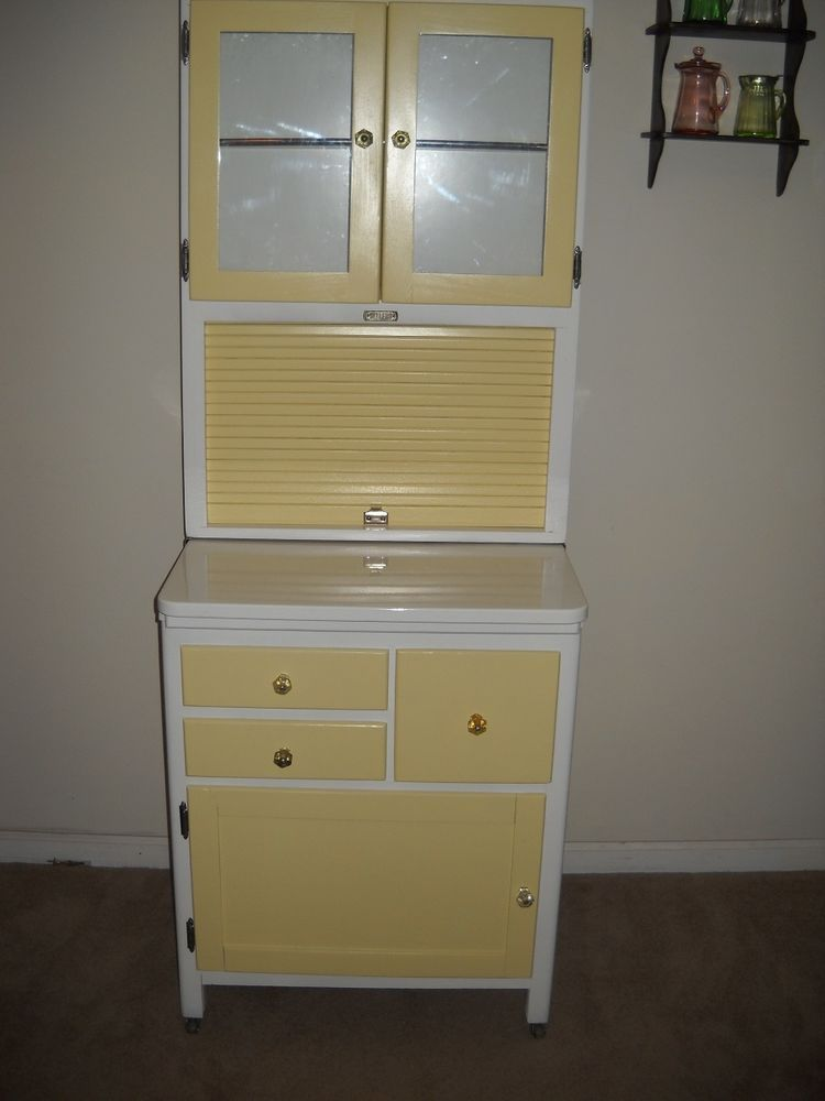Rare 1930 S 40 S Sellers Apartment Size Hoosier Kitchen