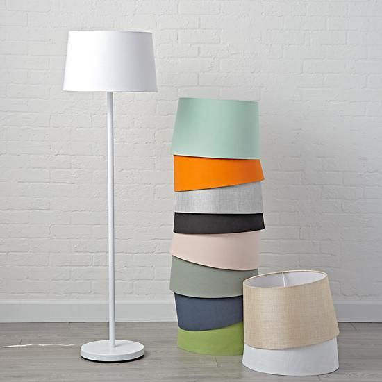 Mix and match white floor lamp base white floor lamp lamp bases mix and match white floor lamp base the land of nod aloadofball Image collections