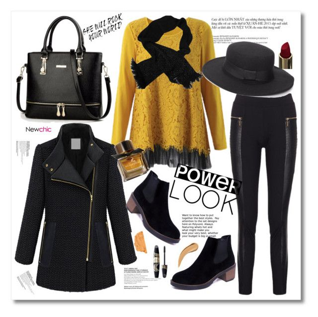 """""""Newchic 8..."""" by cindy88 ❤ liked on Polyvore featuring Chanel, Max Factor and Burberry"""