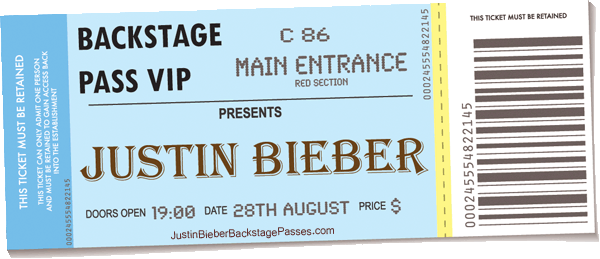 Justin bieber backstage passes vip tickets frontrowboxoffice meet greet backstage passes vip ticket packages to meet justin bieber m4hsunfo