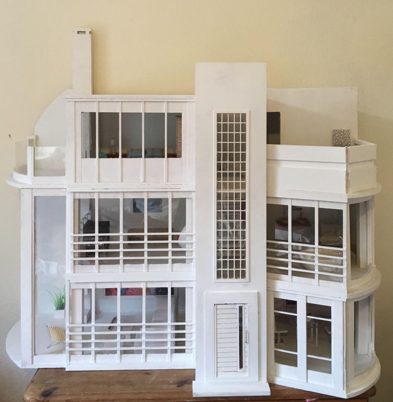 Modern Malibu Beach Dolls House By