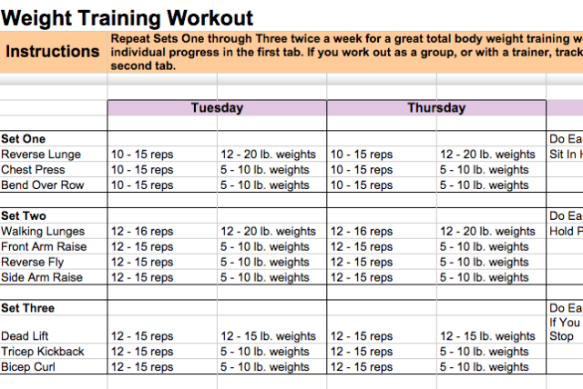 Weight Training Template 24 Google Docs Templates That Will Make Your Life Easier