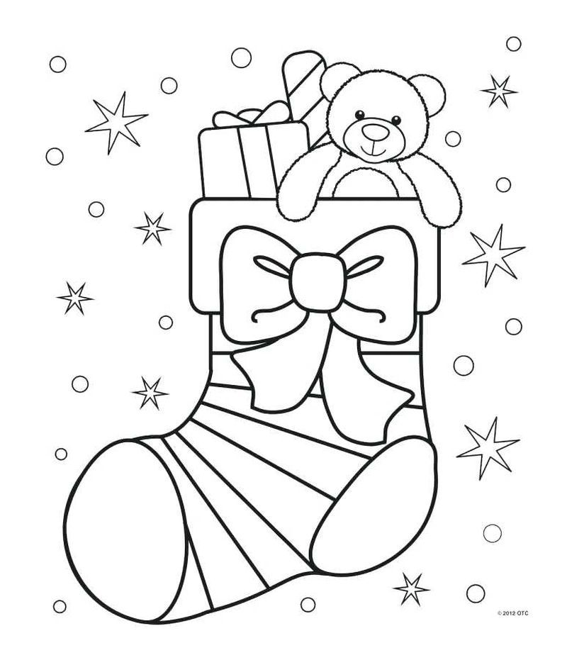 Elf Coloring Pages Printable Free christmas coloring