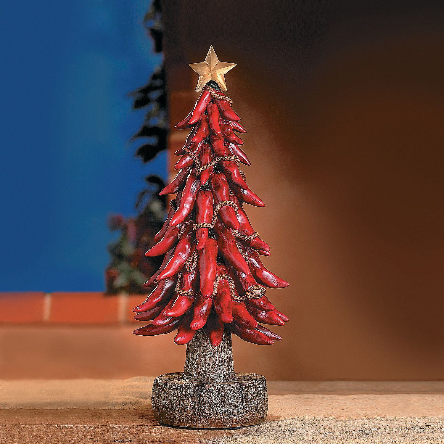 Chili Pepper Christmas Tree Terrysvillage Holidaywishlist