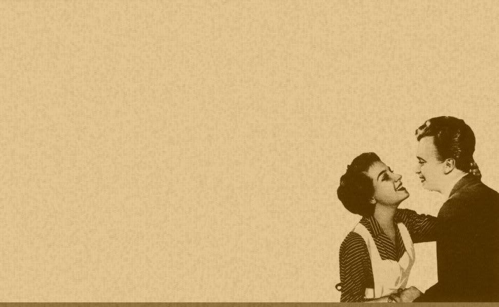 Again I Like The Textured Solid Background With An Image Retro Photography Retro Vintage Couple Wallpaper