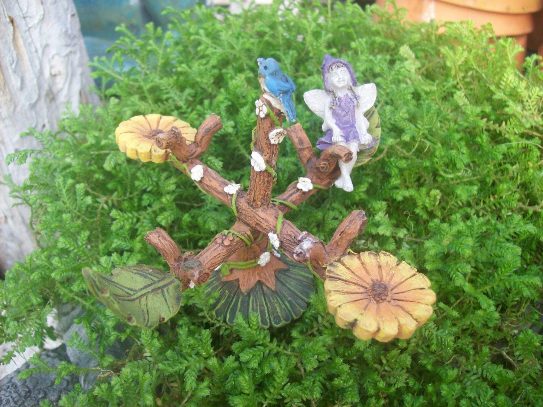 Fairy Merry-Go-Round, Fairy Garden Accessory, Garden Decor ...