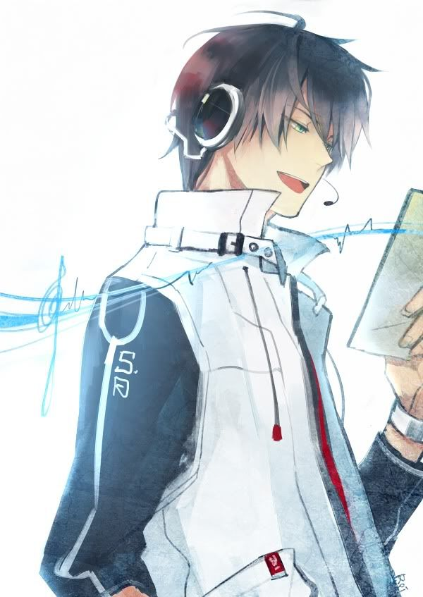 396408dz Jpg 600 847 Anime Boy With Headphones Cool Anime Guys Anime Guys