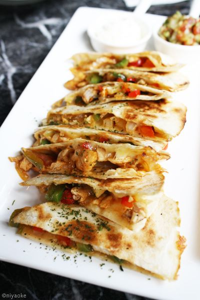 Chicken Quesadilla By Jackrabbit