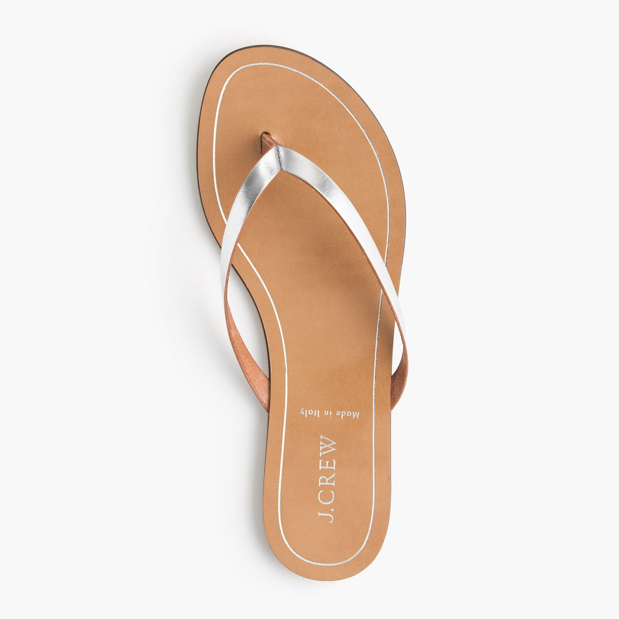 b8d305298c041 Rio metallic sandals   flip-flops