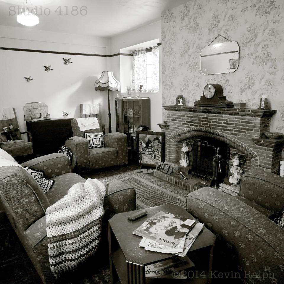 1940s Middle Class Sittingroom