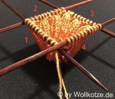 Photo of Eine wirklich einfache Anleitung, wie du selber Socken mit einem Nadelspiel stri…