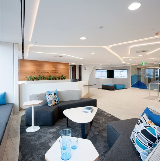 Gallery | Australian Interior Design Awards Unilever Sydney CBD NSW