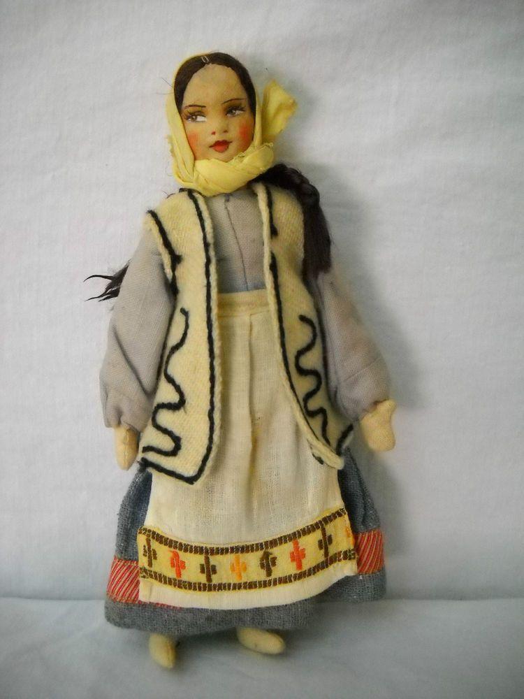 Antique Near East Industries Female Doll
