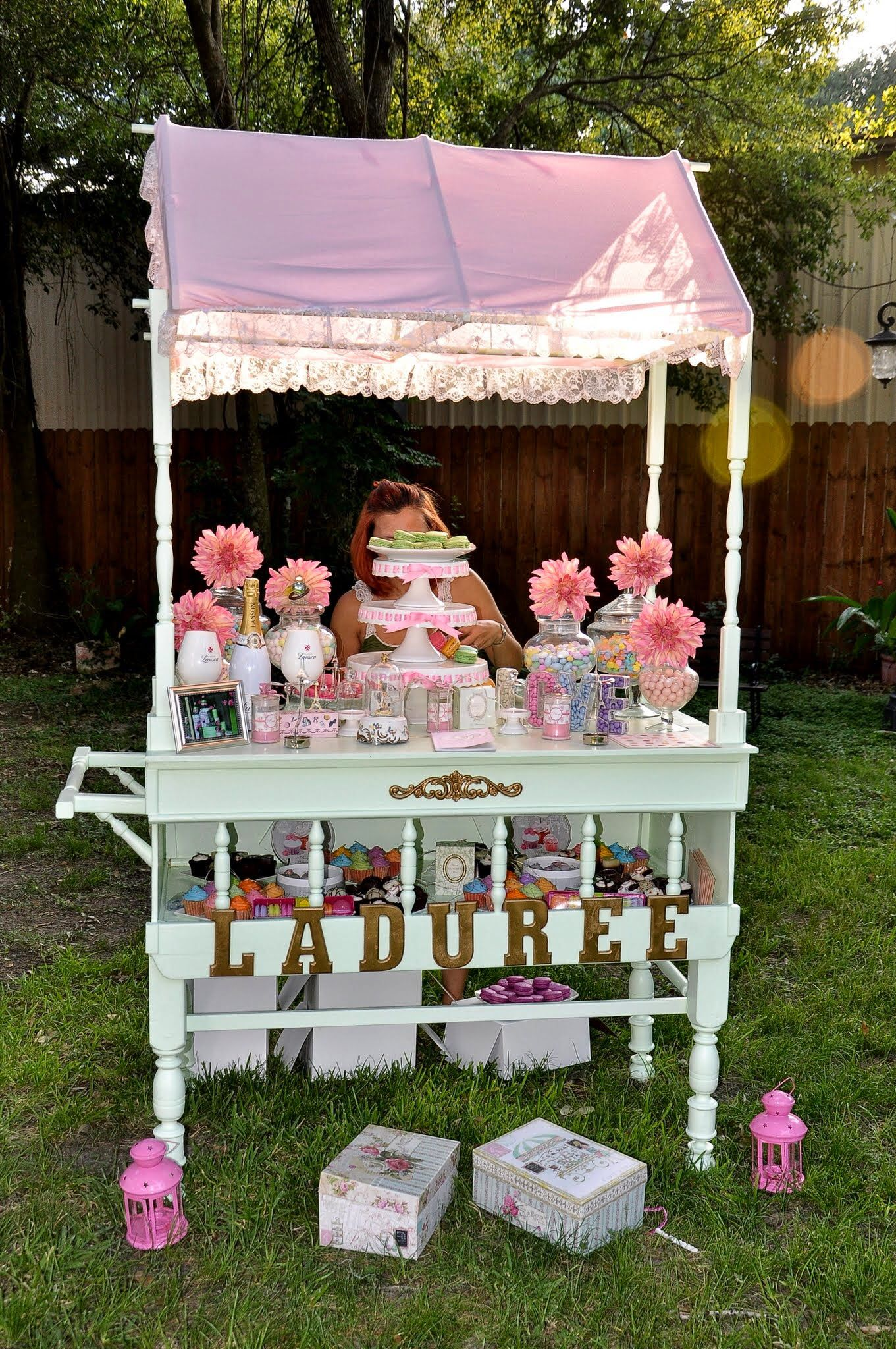 My candy bar Parisian style with Champagne Lanson Champagne and ...