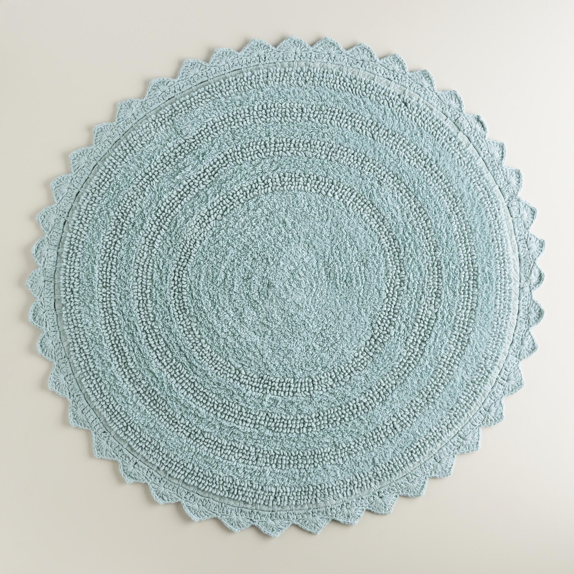 french blue round bath mat | french blue, bath and apartments