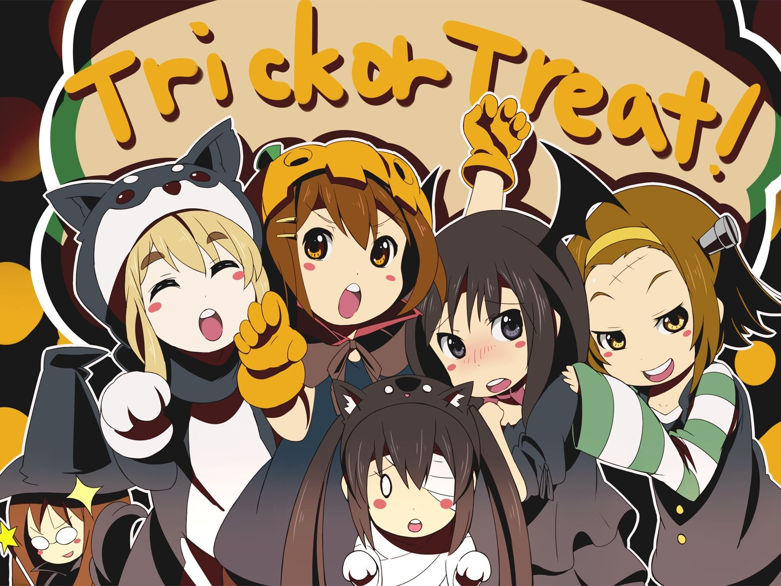 K-On Halloween | Halloween Anime | Pinterest | Anime halloween ...