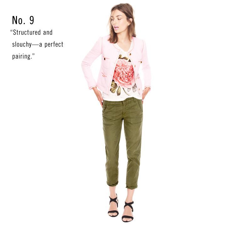 crew Green Looks Cargos Floral J Love Clothing We Women's UnXWqwgSw