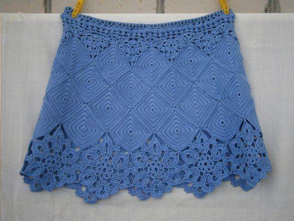 Tricotando um lugar aconchegante ○ ○ | VK | Häkelkleidung | Pinterest