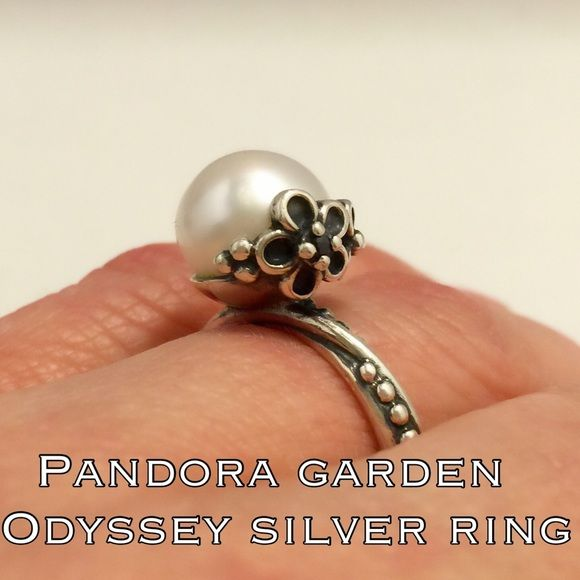 b4ba6ac83 Authentic Pandora Sterling Garden Odyssey Ring This is a beautiful Sterling  Silver Authentic Pandora Garden Odyssey