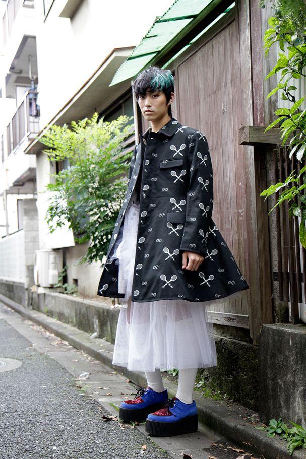 【STREET SNAP】合田 流宇 | Plumb x fancyHIM | ストリートスナップ | 原宿(東京)|