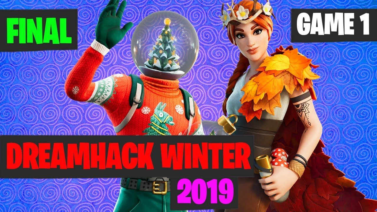 Fortnite Dreamhack Winter Grand Final Game 1 Highlights Dreamhack Game 1 Fortnite A prize pool of $250,000 will be up for grabs every month! pinterest