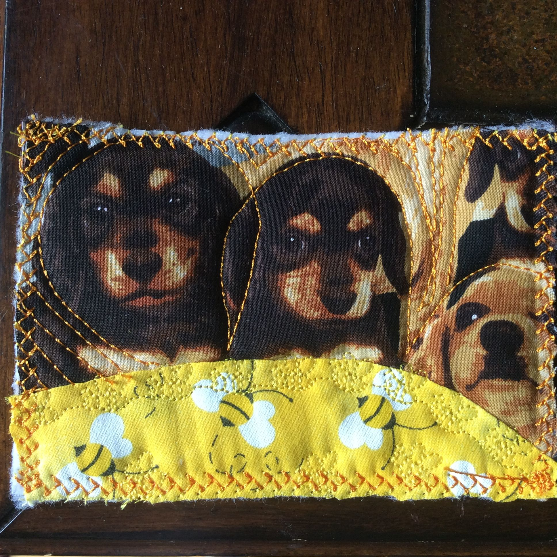 Quilted card for Kyler. 9-2015