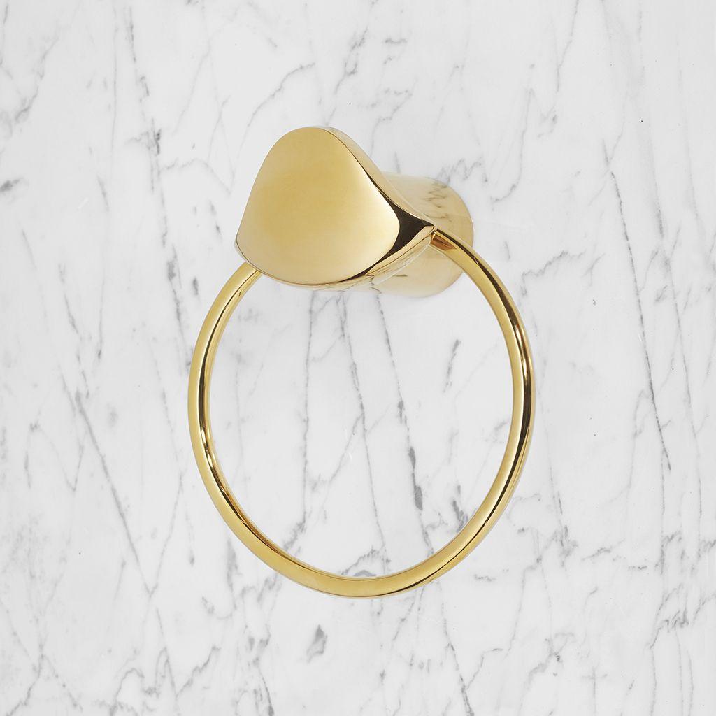 Aurora Towel Ring Gold Towel Ring Gold Bath Decor Gold Bathroom Accessories Luxur Gold Bathroom Accessories Aurora Design Modern Bathroom Faucets