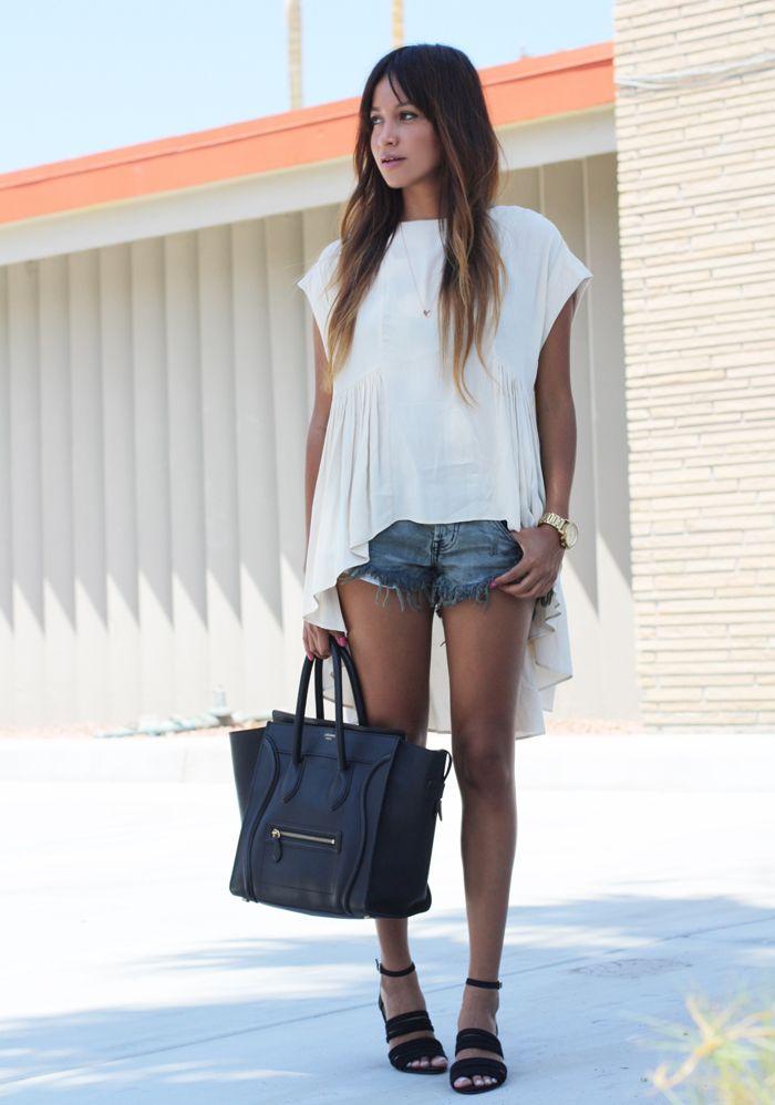 com peças curtas, esse é o jeito mais moderninho (e bonito) de usar as blusas mullet mais compridas.