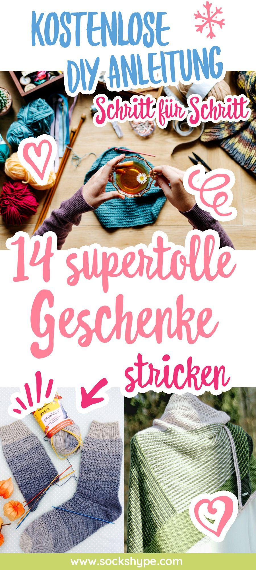 14 Supertolle Geschenke Stricken Mit Kostenlosen Anleitungen