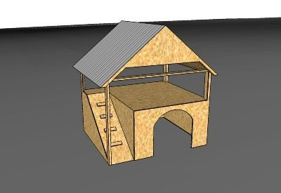 2 Story Dog House Two Story Dog House By Ryan Kelley 3d