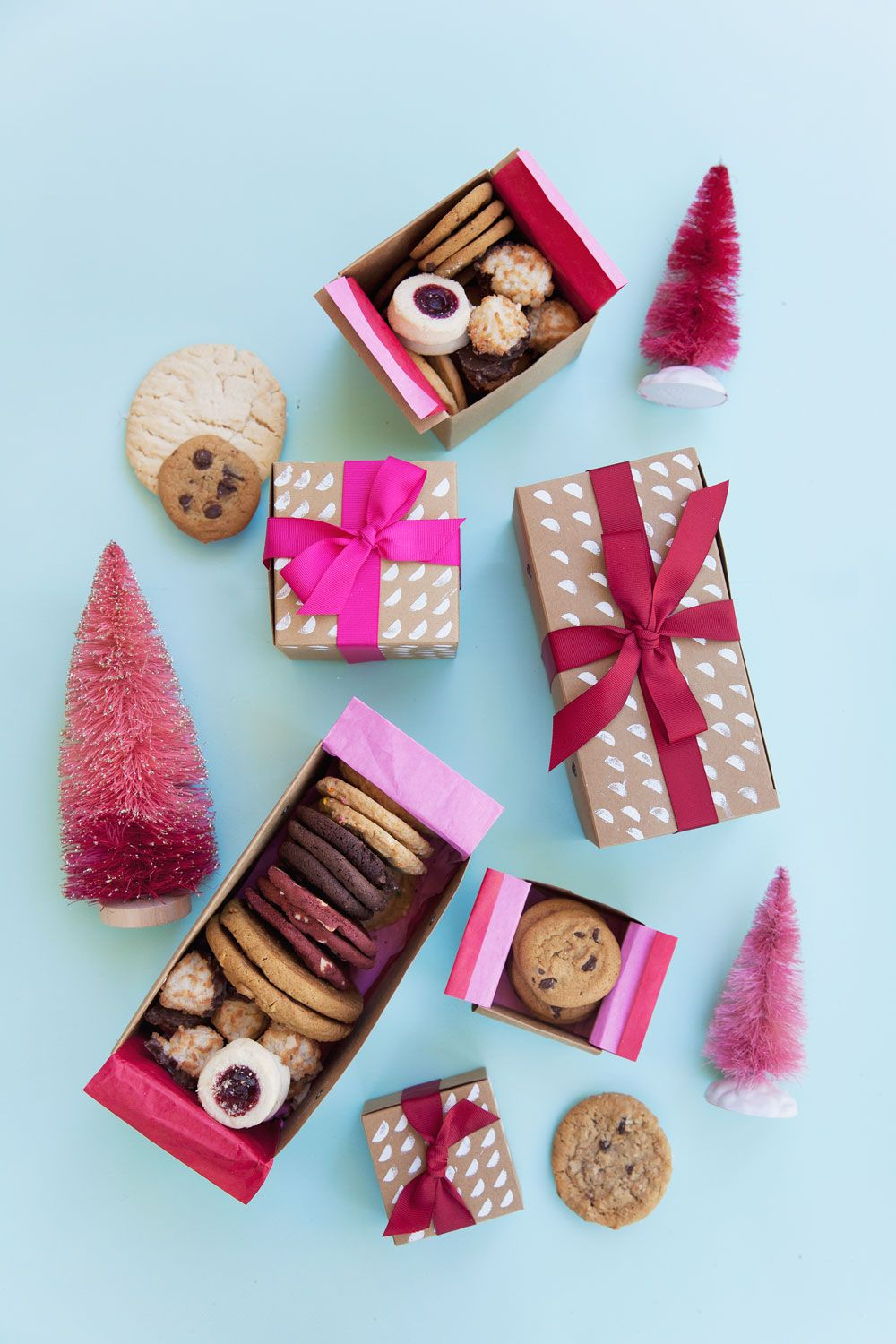 Diy cookie gift boxes cookie gift boxes homemade gifts