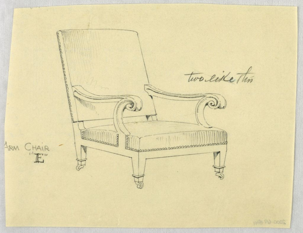 Drawing Design For Stuffed Chair Rocker And Arm Chair Easy Chair In 2020 Easy Chair Armchair Design