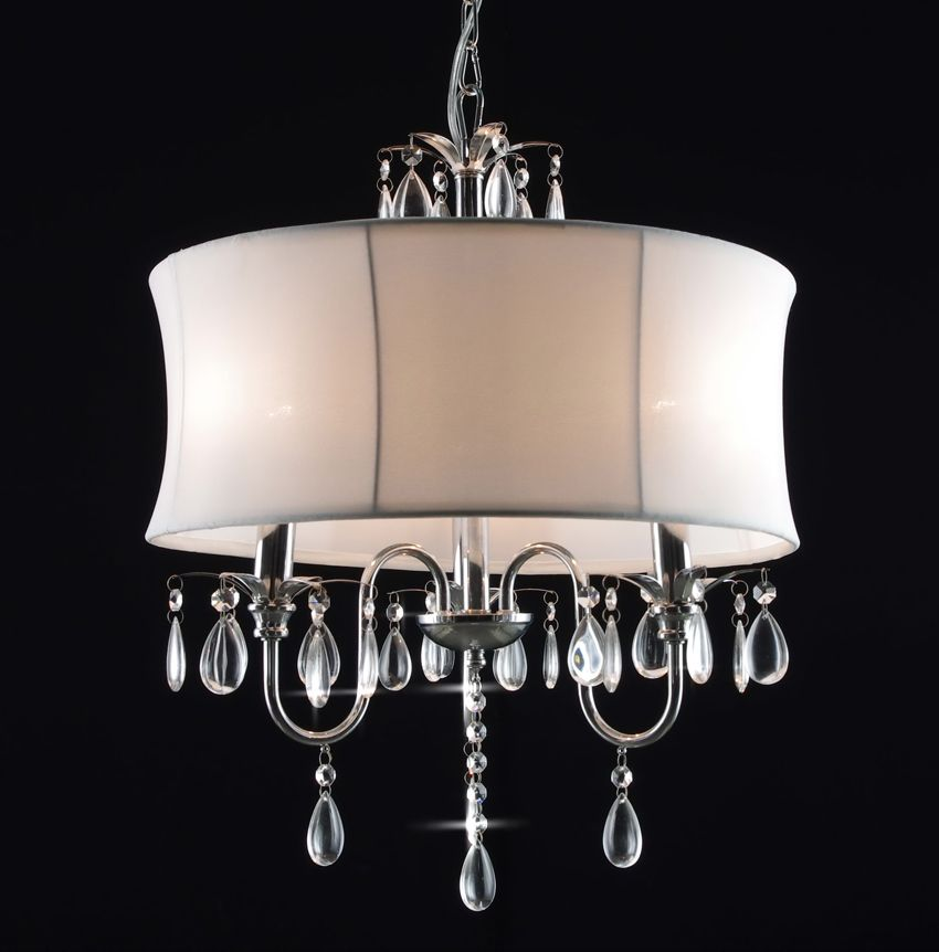lighting crystal pin luxury kolarz supplied is shades by carmen light chandelier shade the with