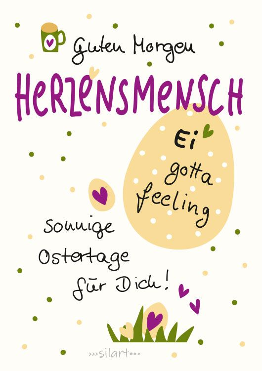 {happy greetings} Ei gotta feeling - Frohe Ostern
